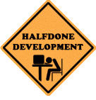 Halfdone Development Forums Forum Index